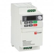 Преобразователь частоты 0,75/1,5кВт 3х400В VECTOR-75 compact EKF Basic VT75c-0R7-3B