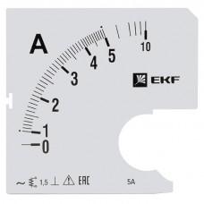 Шкала сменная для A961 5/5А-1,5 EKF PROxima s-a961-5
