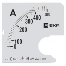 Шкала сменная для A961 80/5А-1,5 EKF PROxima s-a961-80