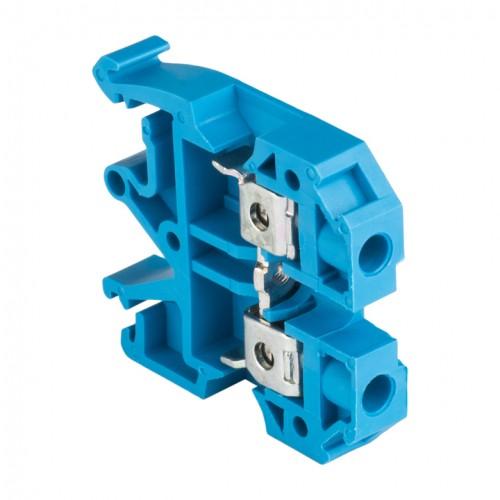 Колодка клеммная  JXB-6/35 синяя EKF PROxima plc-jxb-6/35b