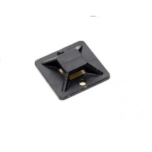 Площадка самоклеящаяся (20х20мм.) черная (100шт.) EKF plc-20x20-b