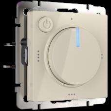 Терморегулятор электромеханический для теплого пола (слоновая кость) / WL03-40-01 a042012