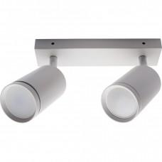 ML202 светильник настенно-потолочный под лампу 2х50W GU10, белый 41064