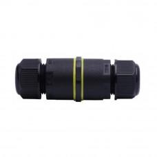 Коннектор прямой NEO-CON-I-3pin-BK (4-8mm, IP68) 029378