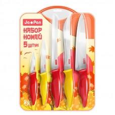 Набор кухонных ножей с доскойJa Pan5шт 0101-001