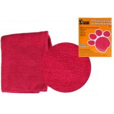 Тряпка для пола из микрофибры M-02F, цвет: бордовый, размер: 40*50 см 310228