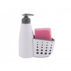 Диспенсер для жидкого мыла с местом для хранения губки для посуды Dispenser 004664