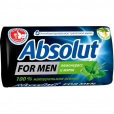 6161 Absolut Classic мыло 90гр Лемонграсс и мята For men 31071