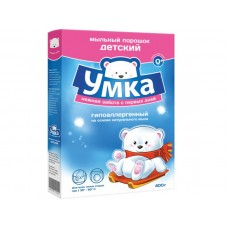Порошок стиральный детский УМКА, 400 гр.*24