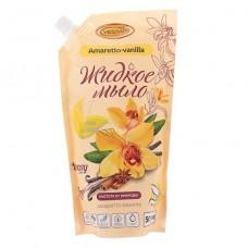 Жидкое  мыло-крем Амаретто - ваниль 500 мл. М1 Дой-Паки  12пак 1127799
