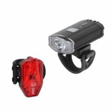 VA-801  ЭРА Фонарь ЭРА Вело  2 в 1 Основной CREE XPG + подсветка SMD,  mocro USB, 800mA/ч., б Б0039624