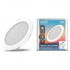 Светильник светодиодный Gauss Smart Home DIM+CCT 16 Вт 2040122
