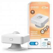 Датчик движения электронный Gauss Smart Home 1,5W 3V Wi-Fi 3м 120° 1/6 4010322